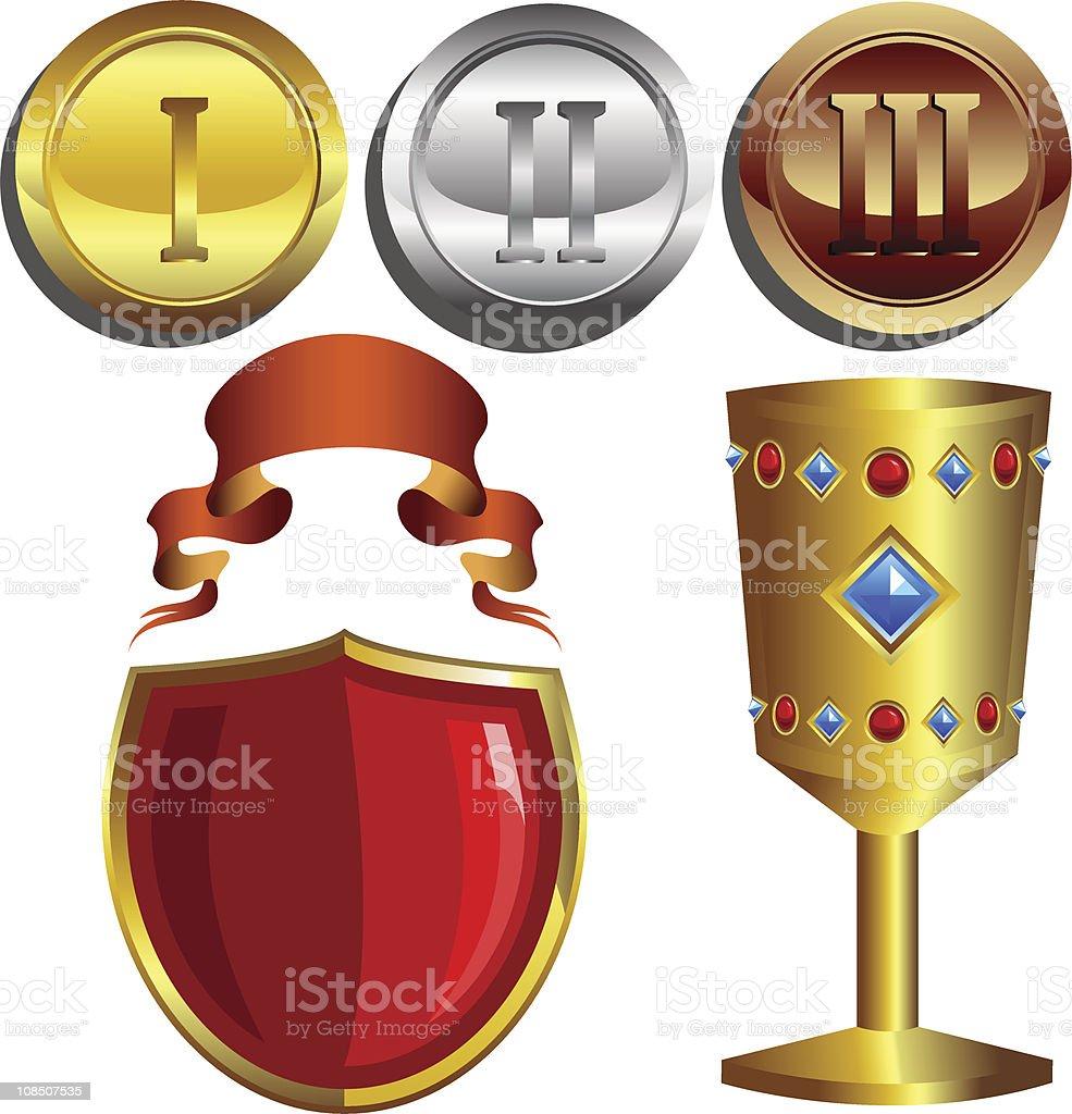 Rewards royalty-free stock vector art