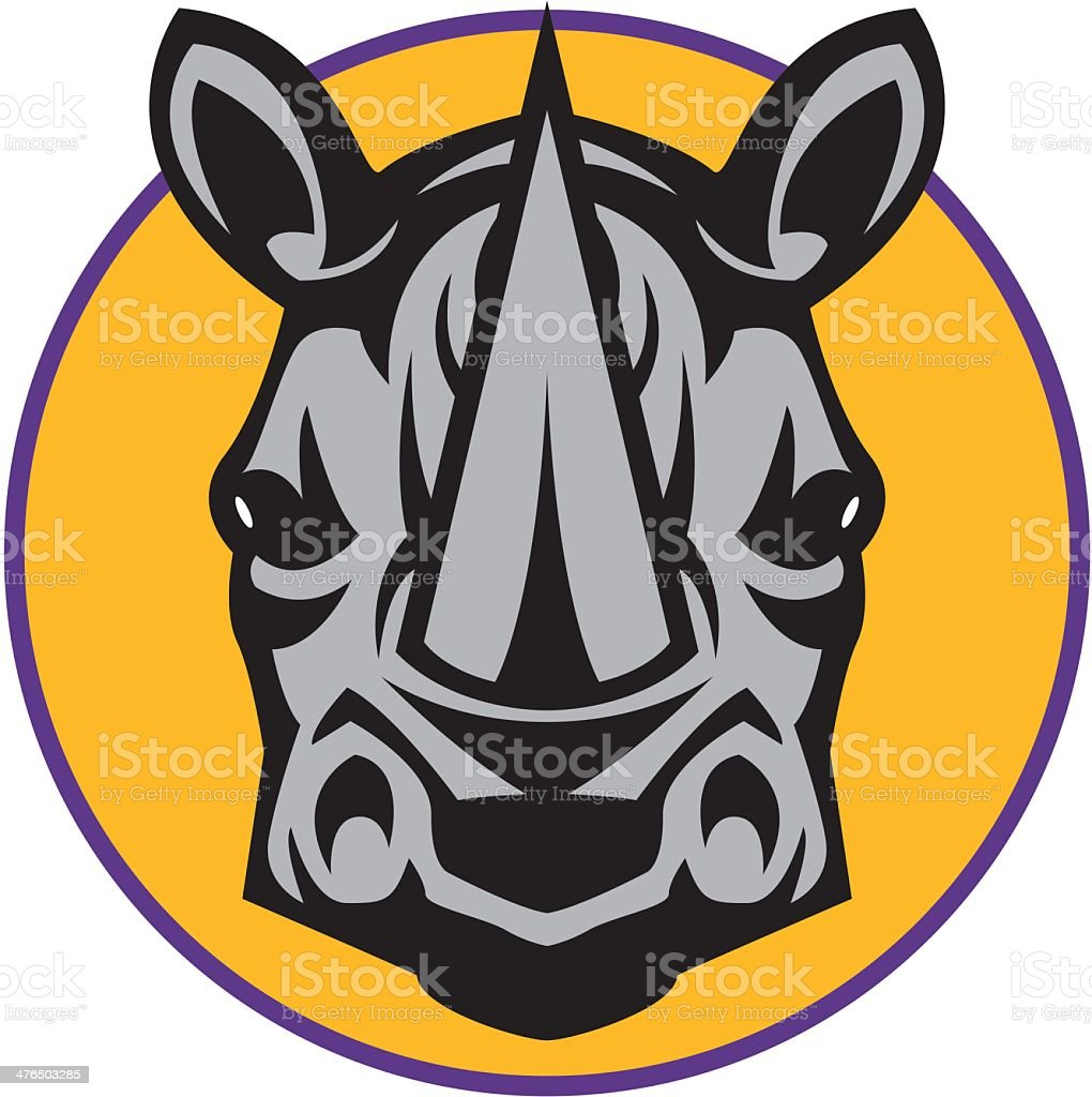 Rhinoceros royalty-free stock vector art