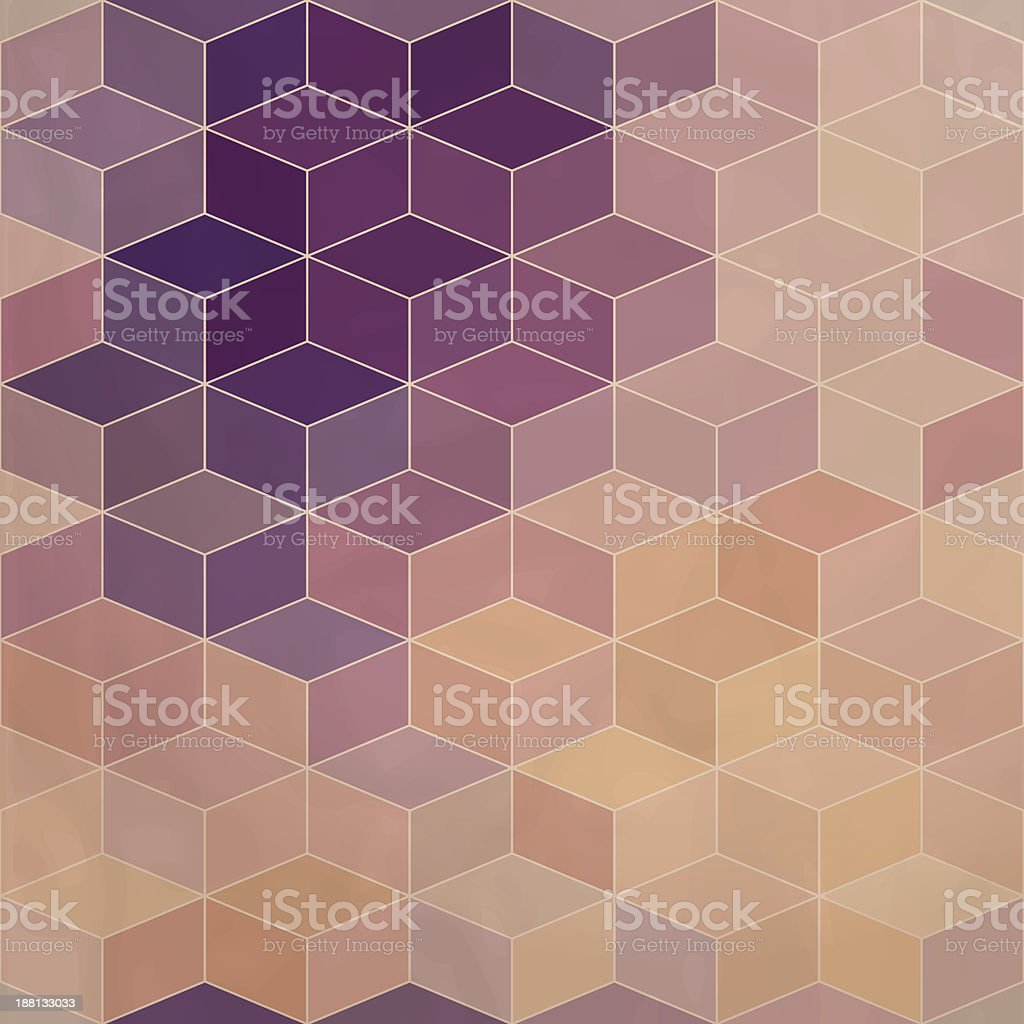 rhombic seamless pattern. royalty-free stock vector art