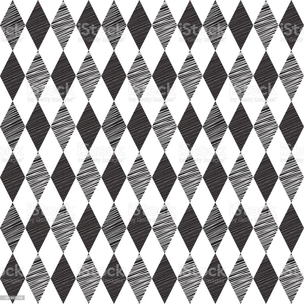 Rhombus retro background. Vector Illustration. vector art illustration