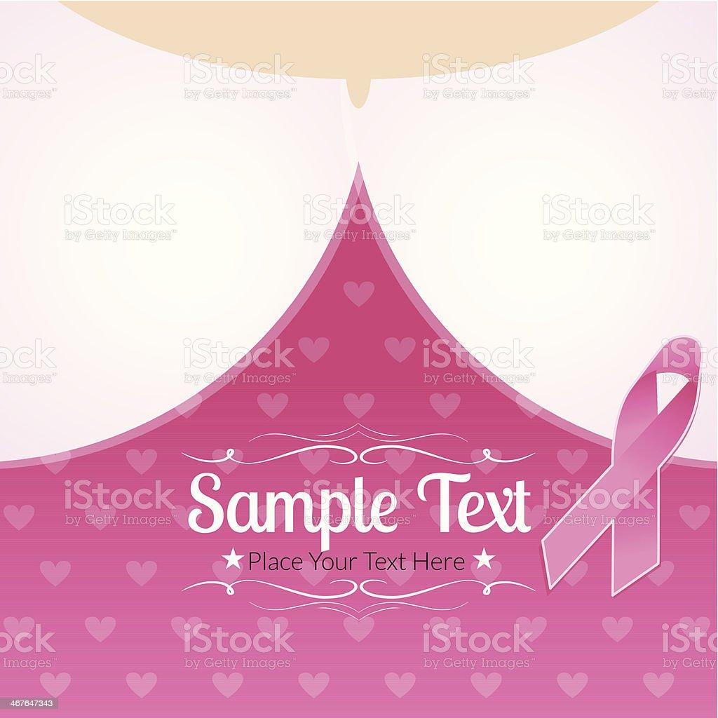 Ribbon Background royalty-free stock vector art