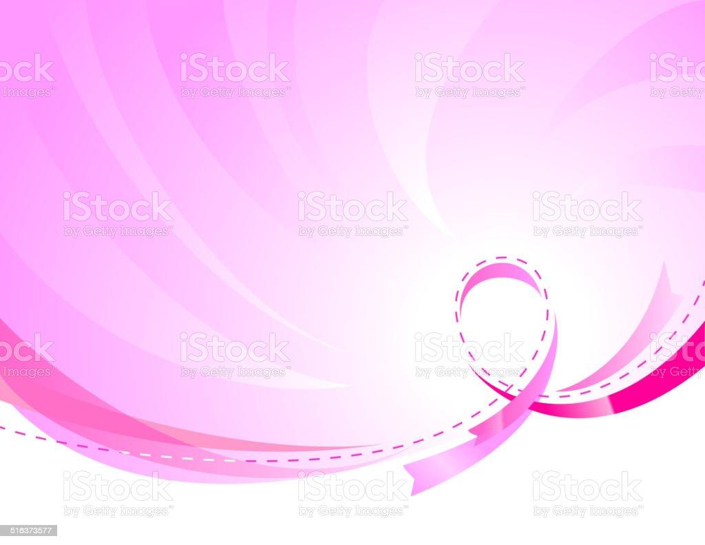 ribbon background vector art illustration