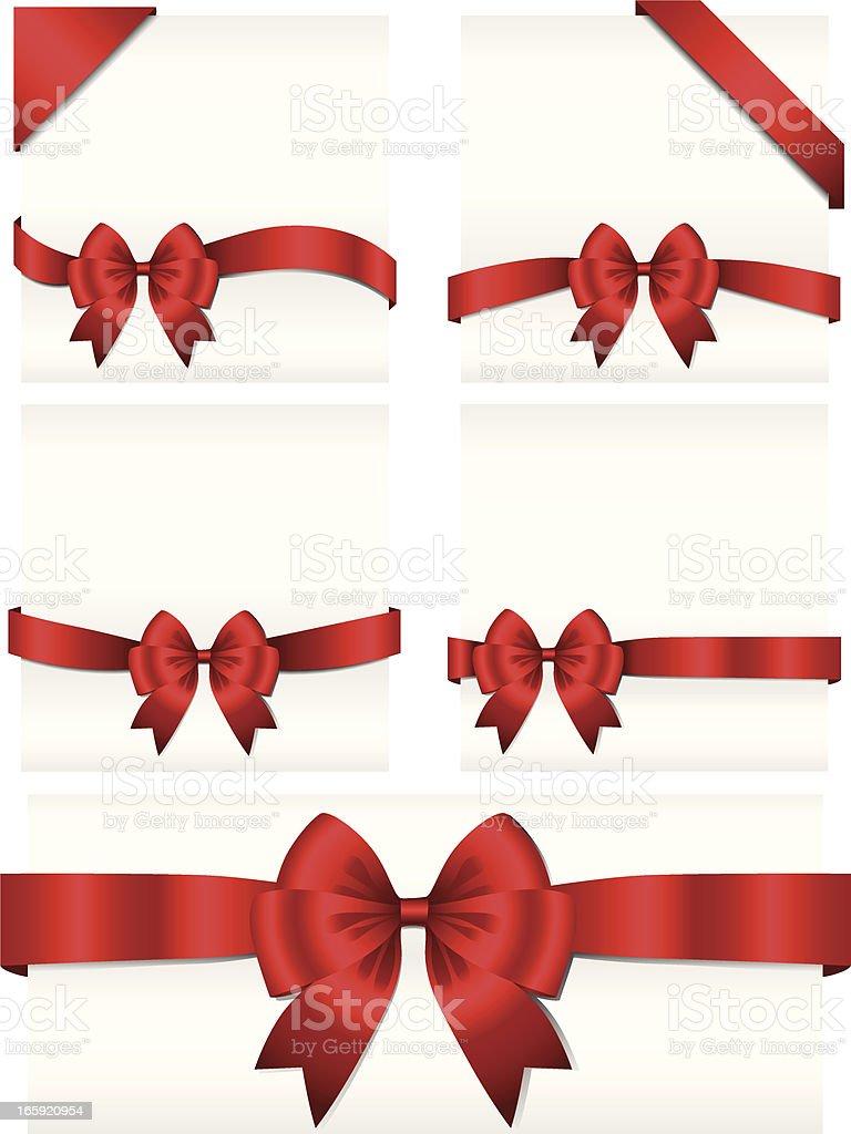 Ribbon Banners royalty-free stock vector art