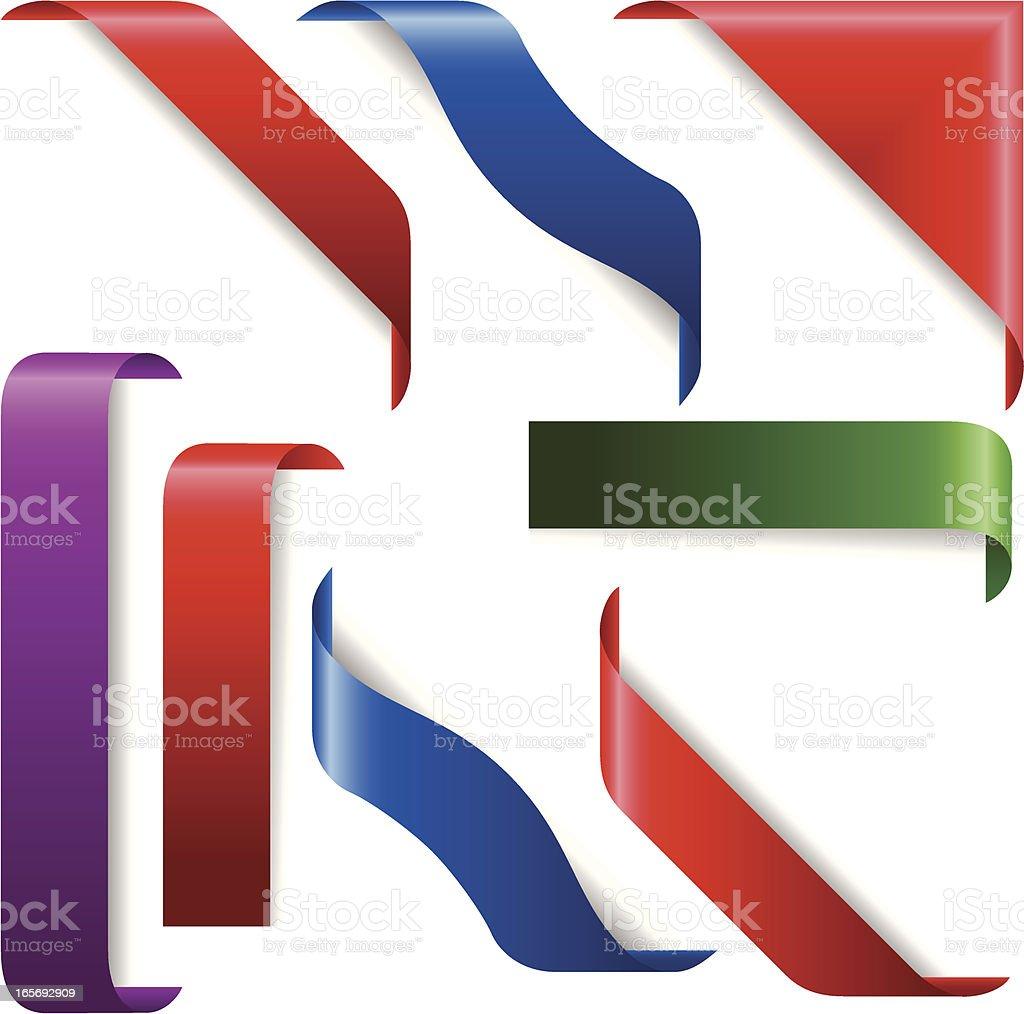 ribbon royalty-free stock vector art