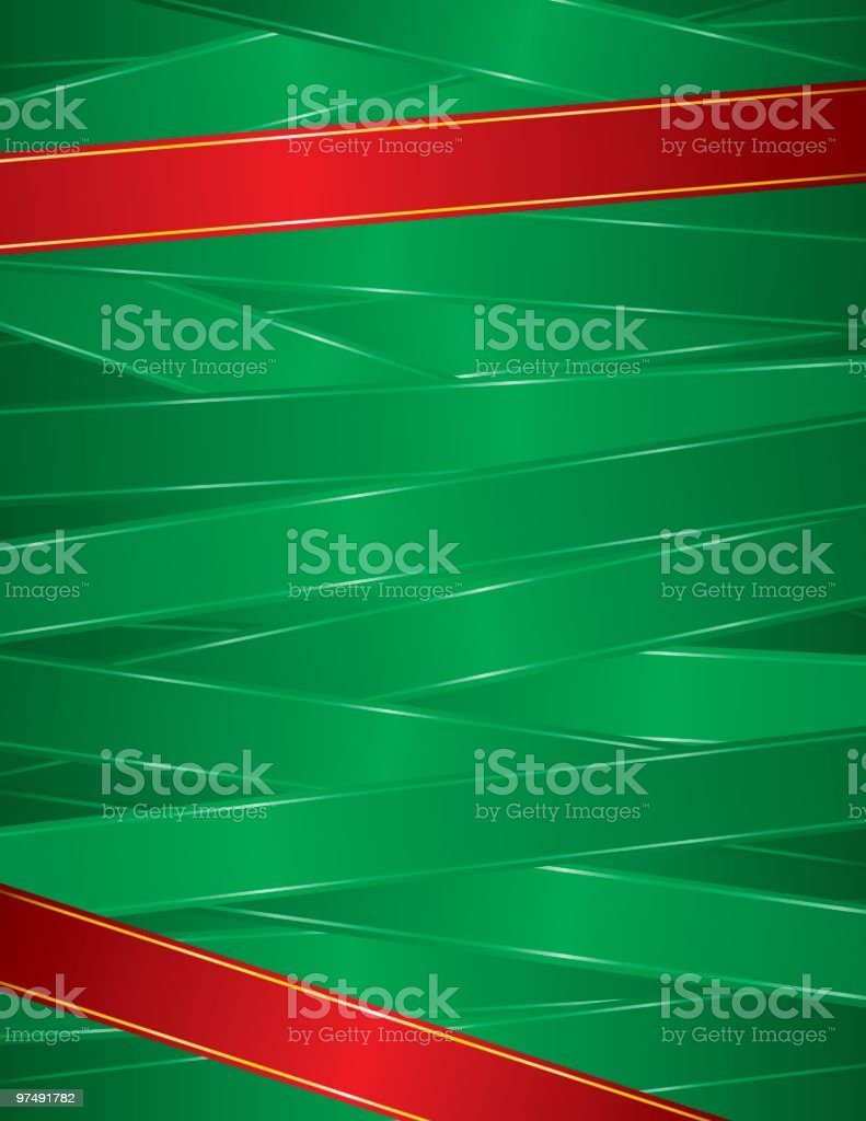 Ribbons Background royalty-free stock vector art