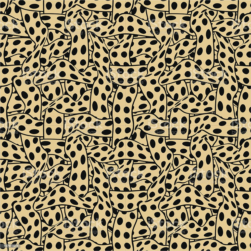 ribbons seamless wallpaper royalty-free stock vector art