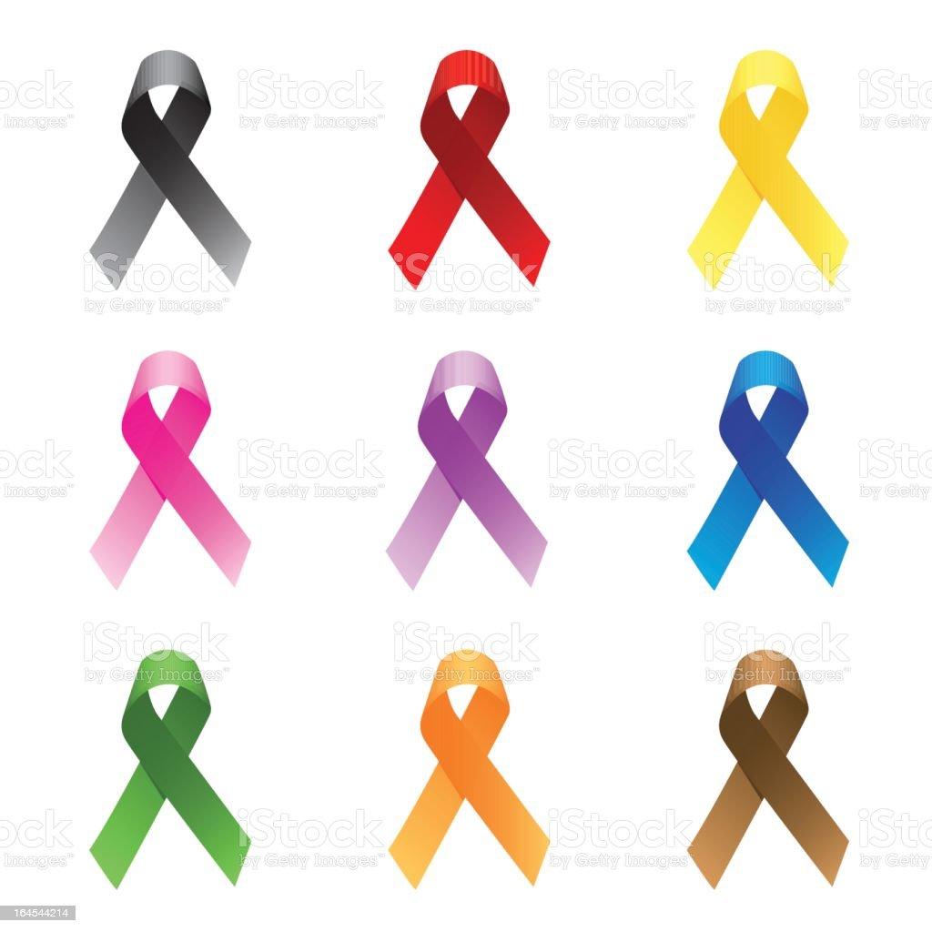 ribbons royalty-free stock vector art