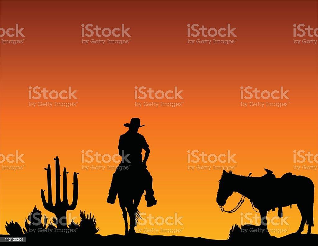Ride Back Home (Vector) royalty-free stock vector art