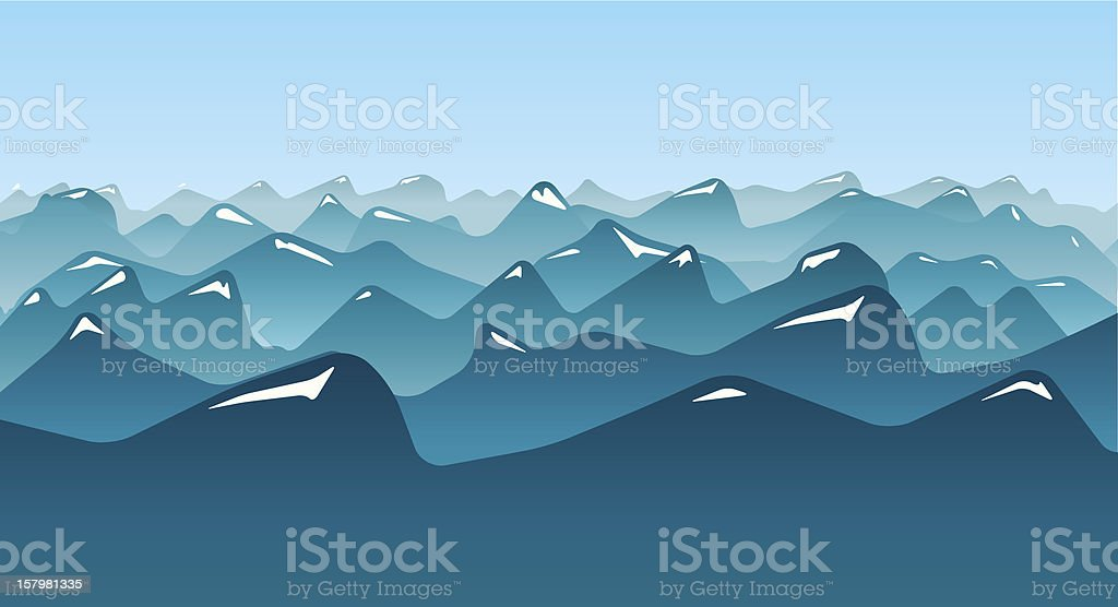 ridge royalty-free stock vector art
