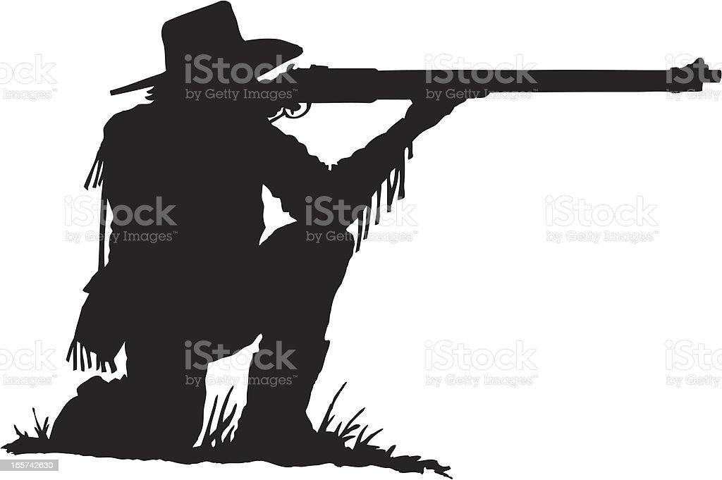 Rifleman royalty-free stock vector art