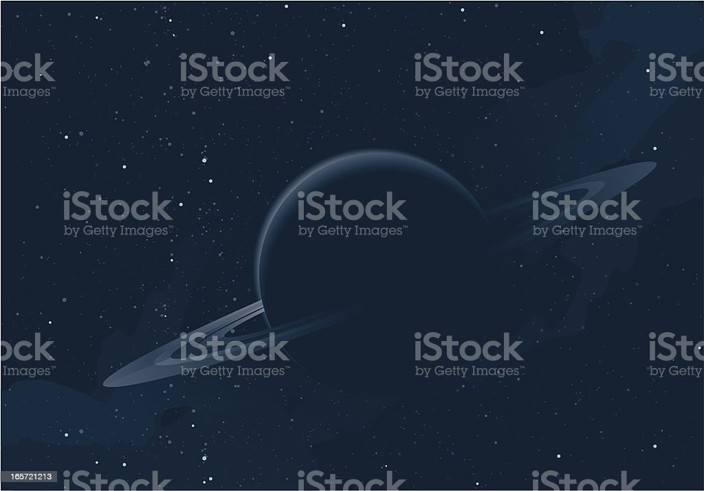 Ring planet royalty-free stock vector art