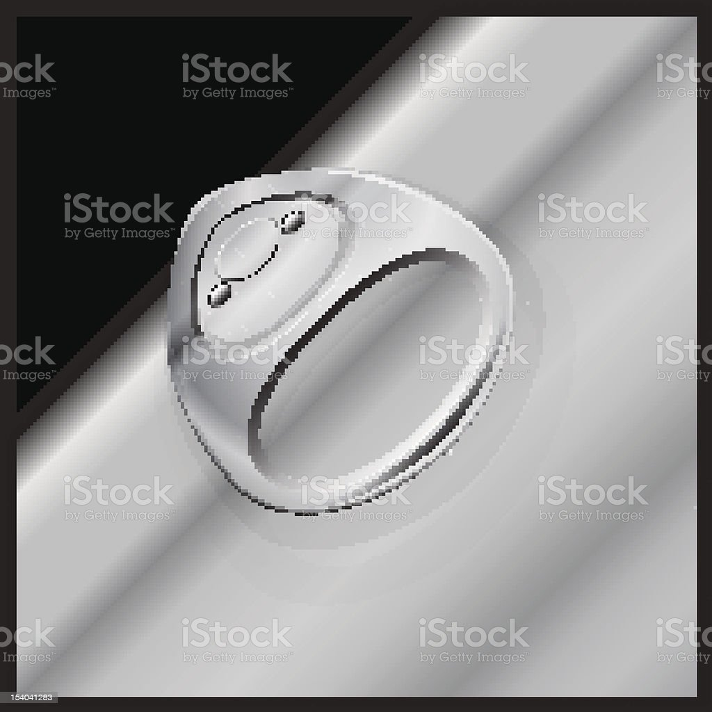 Ring Pull royalty-free stock vector art