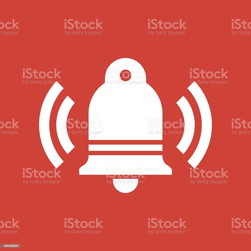 Ringing Bell Icon vector art illustration