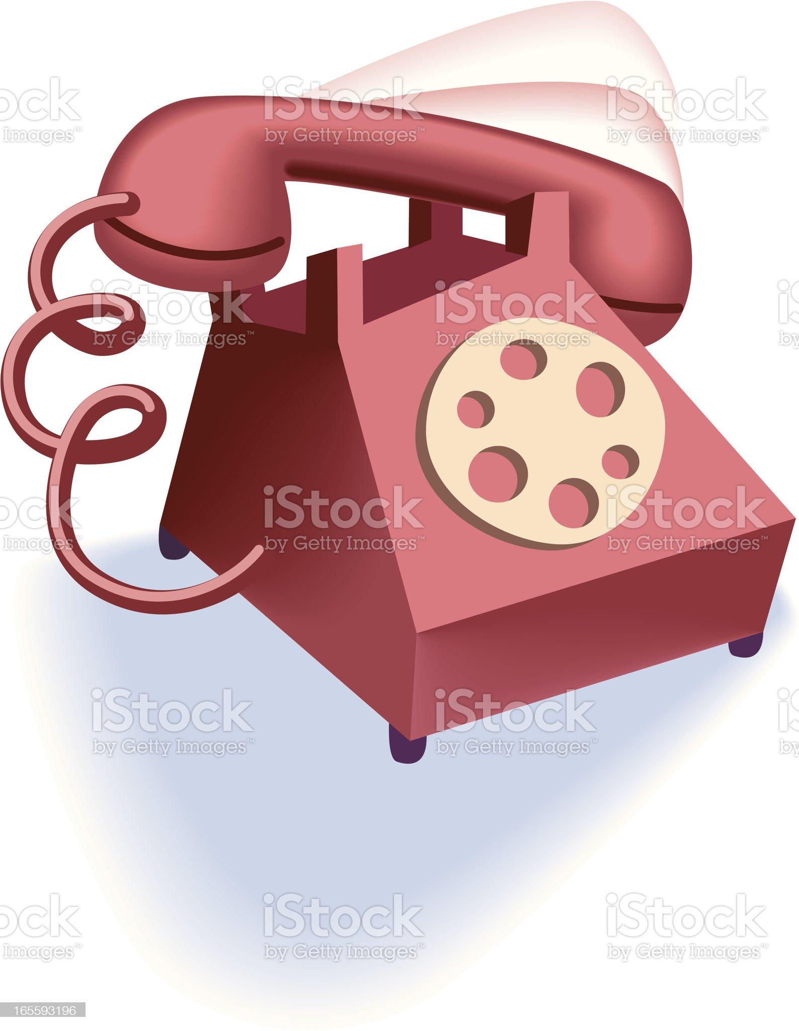 Ringing Phone royalty-free stock vector art