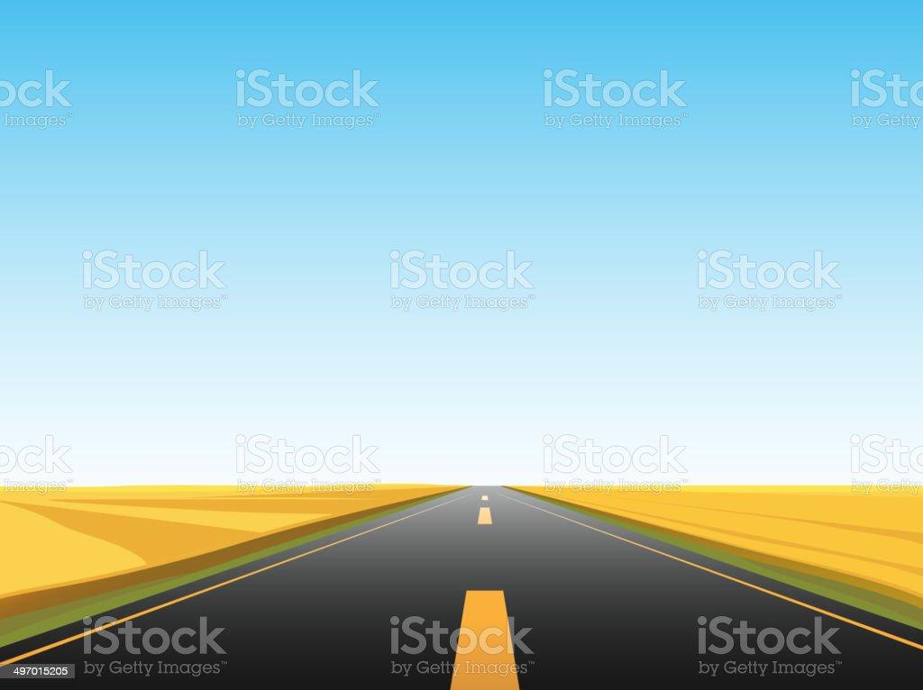 road landscape royalty-free stock vector art