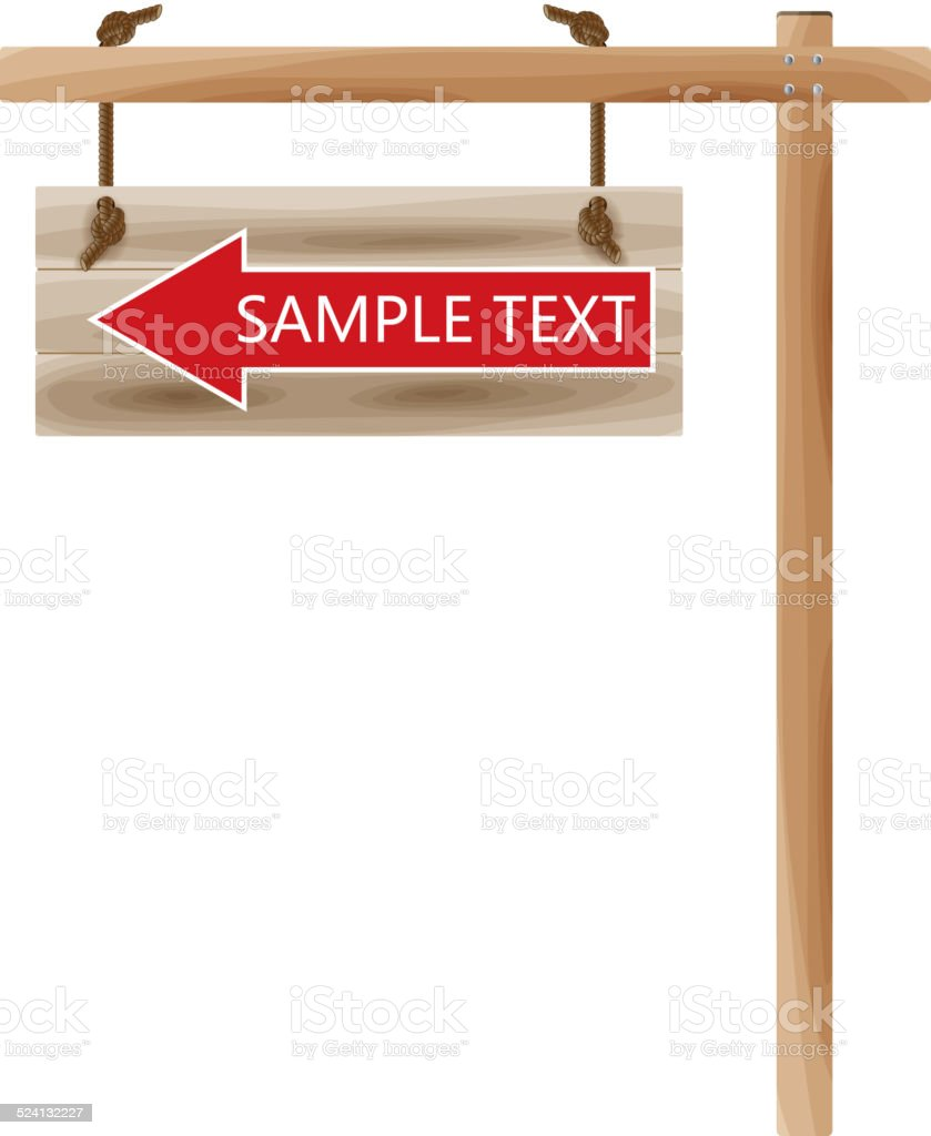 Road sign vector art illustration
