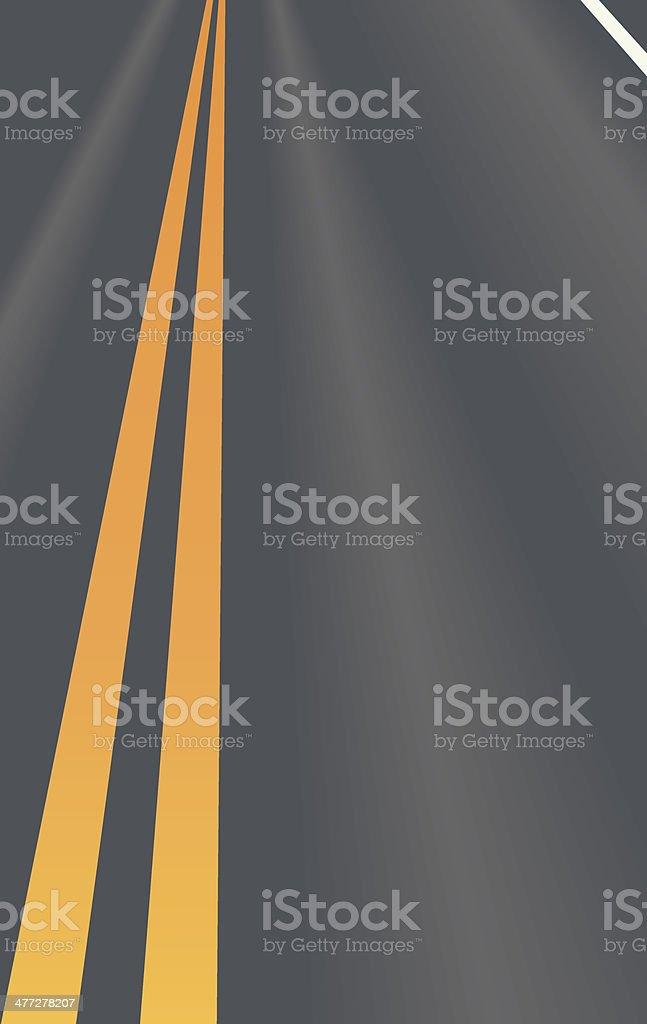 Road Stripes C vector art illustration
