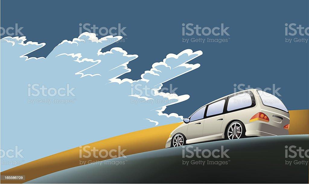 road trip royalty-free stock vector art