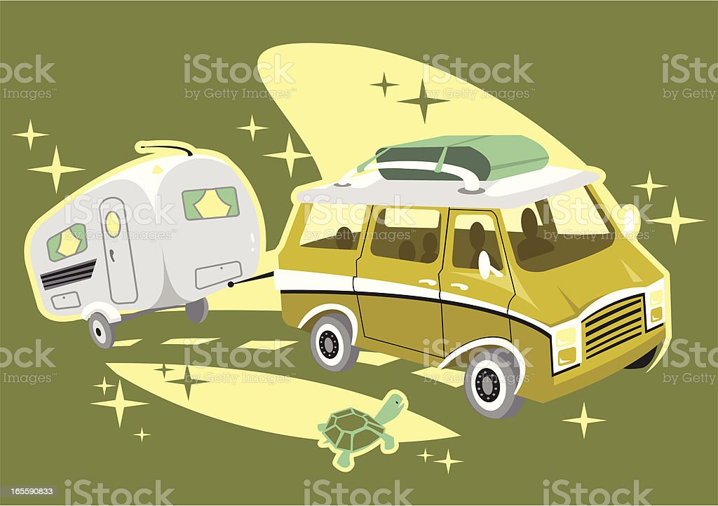 Road Trip royalty-free stock vector art