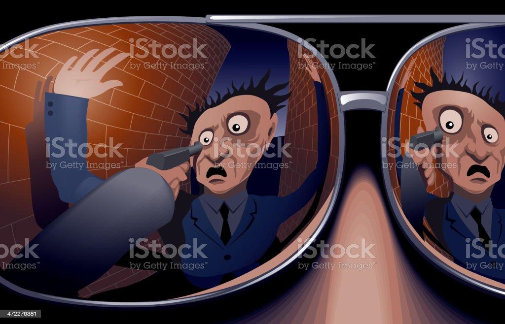 Robbery royalty-free stock vector art