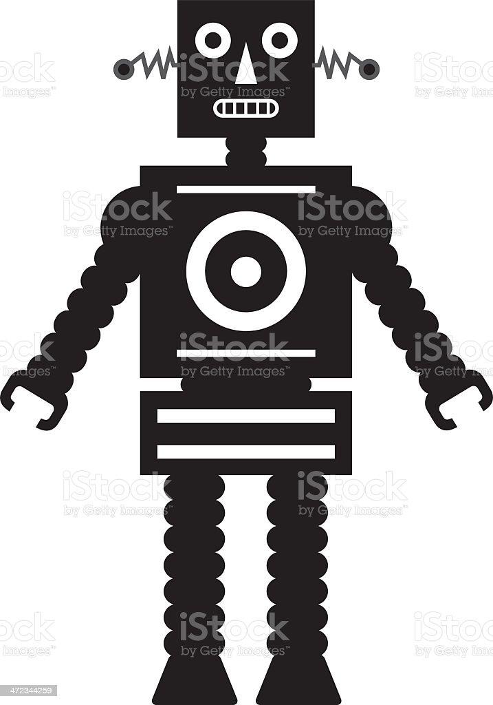 RobotAbw royalty-free stock vector art