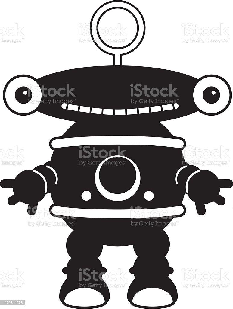 RobotHbw royalty-free stock vector art