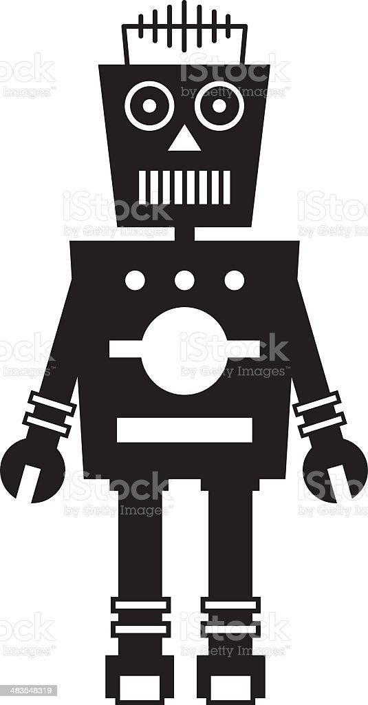 RobotSbw royalty-free stock vector art