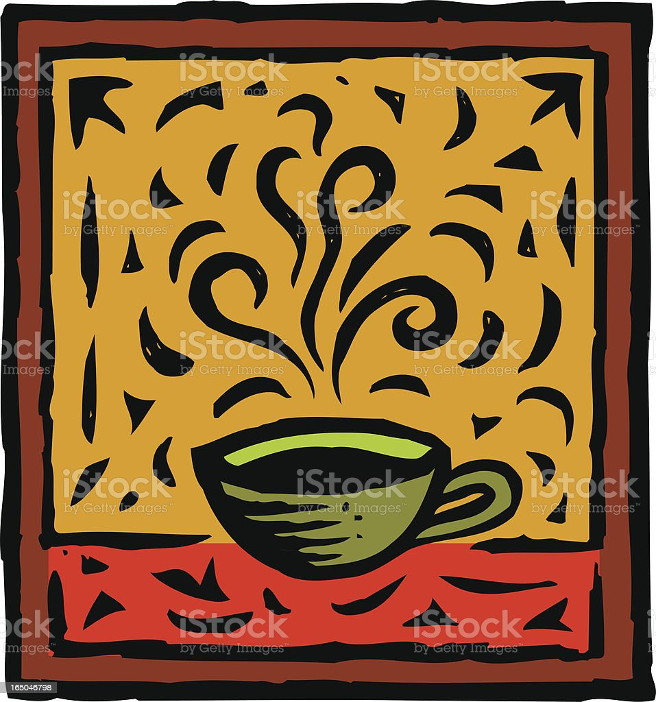 Robust Coffee royalty-free stock vector art