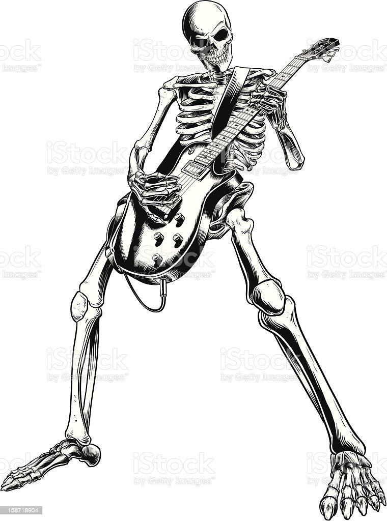 skeletons bones hands rock n roll hand signs  KILL