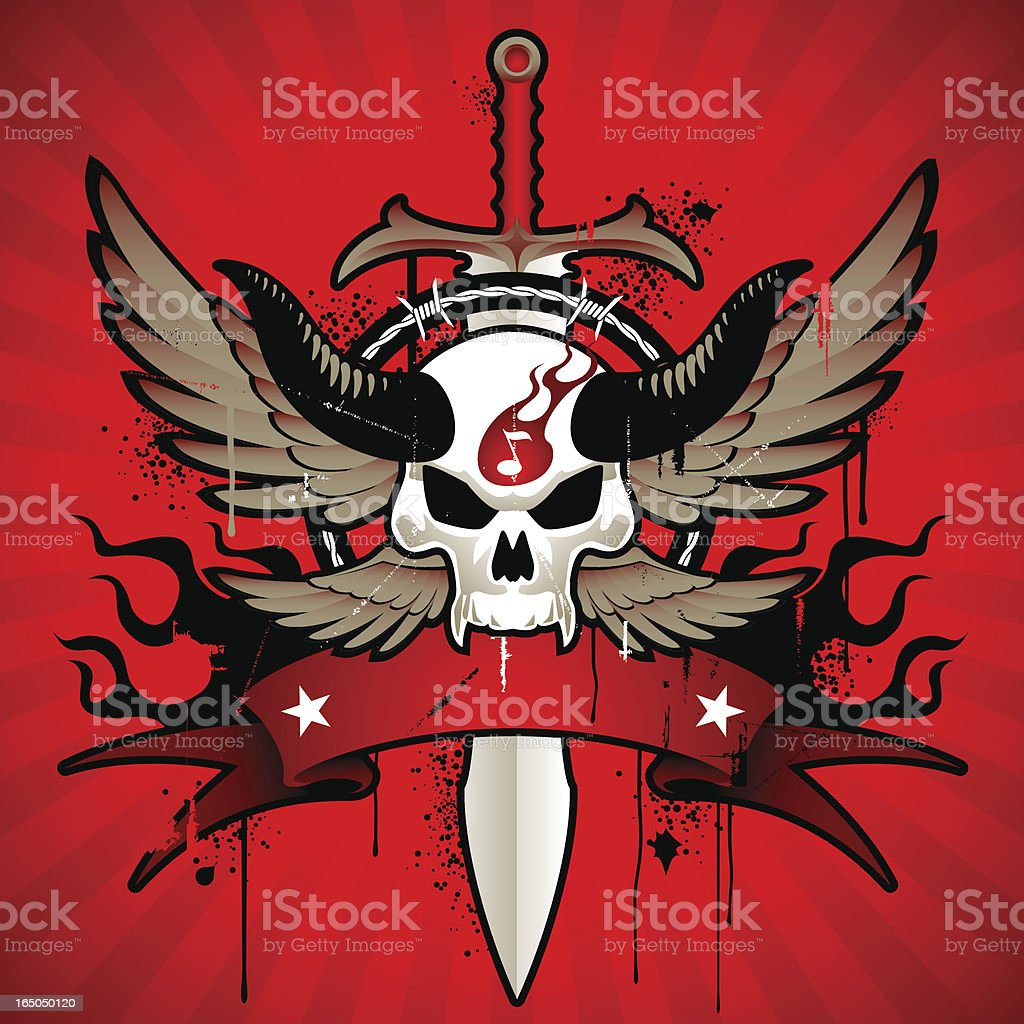 rock emblem royalty-free stock vector art