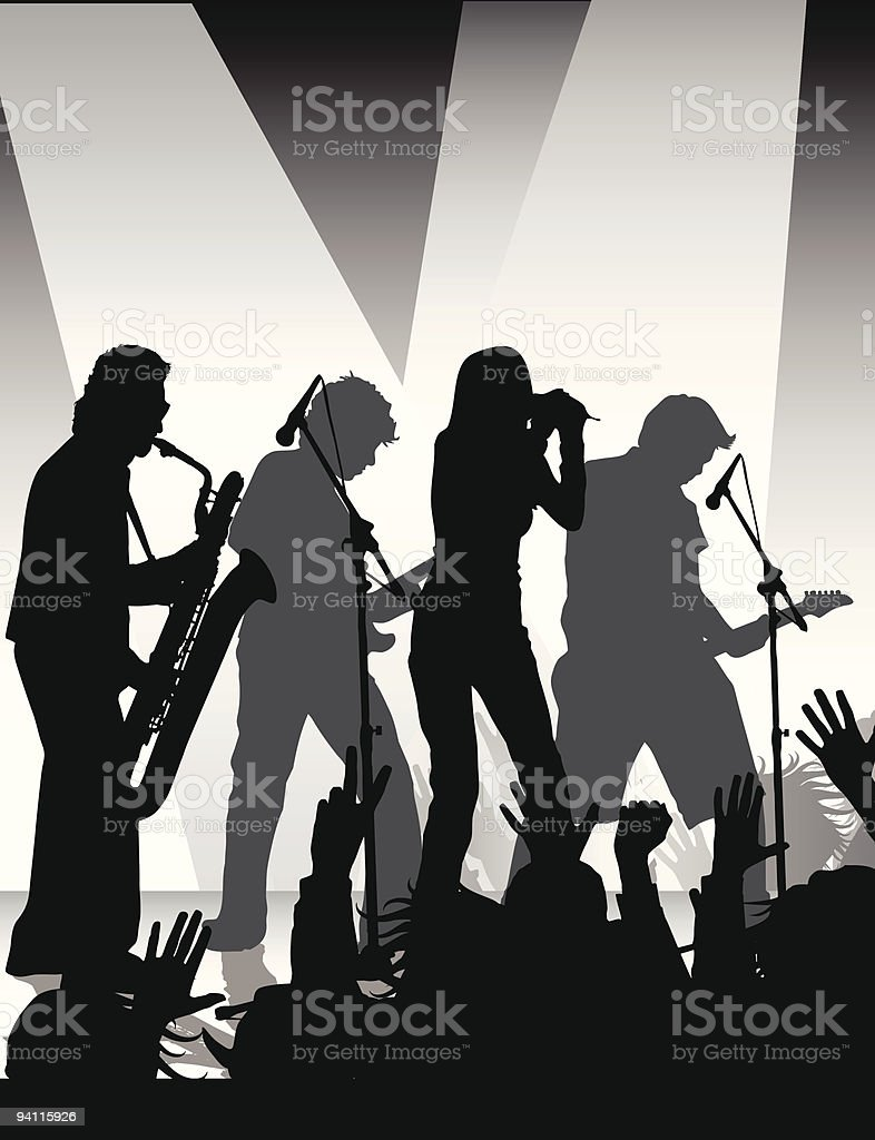 rock jam royalty-free stock vector art