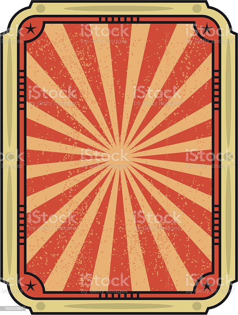 rock poster royalty-free stock vector art