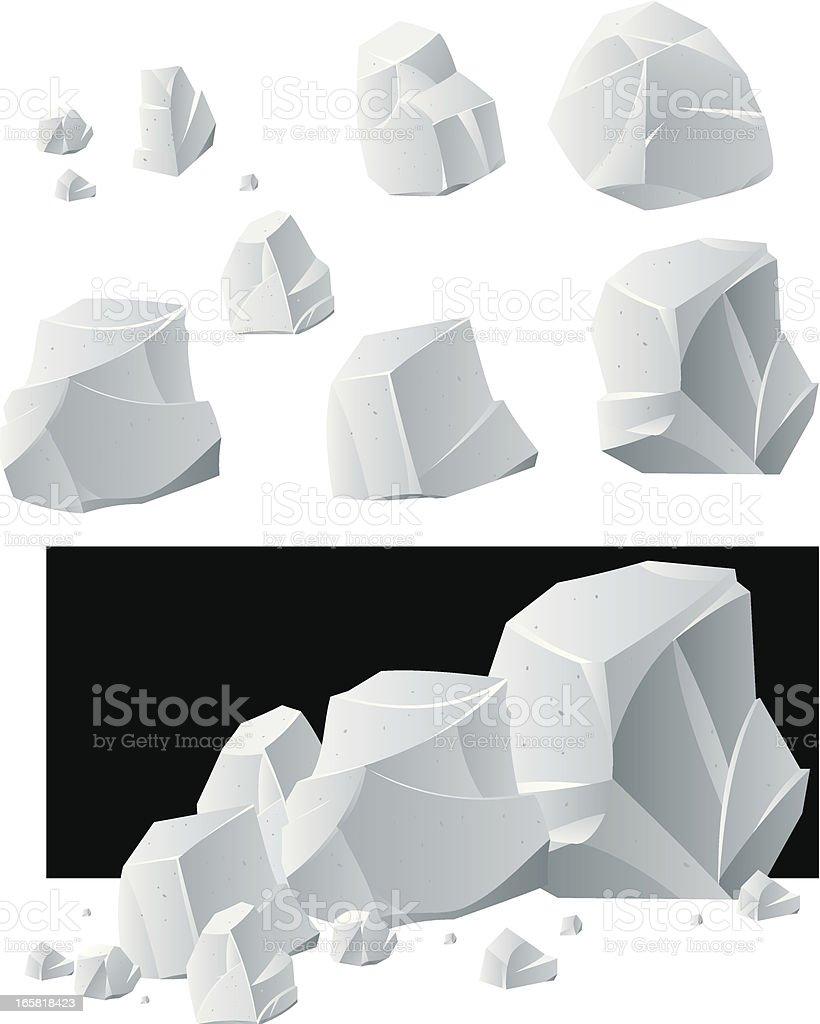 Rock royalty-free stock vector art