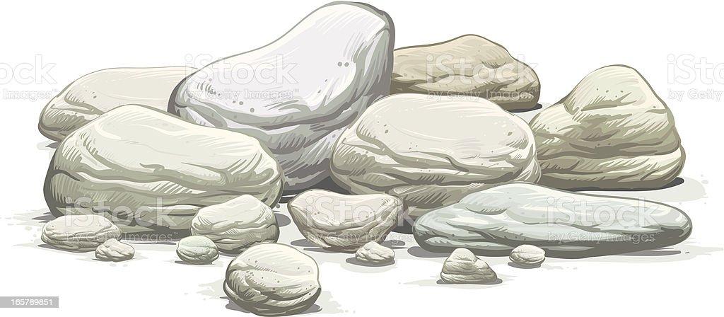 165789851 istock - Rocher dessin ...