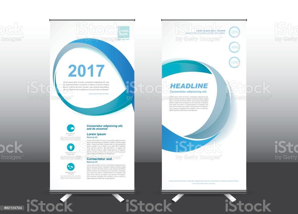 Roll Up template vector illustration, vector art illustration
