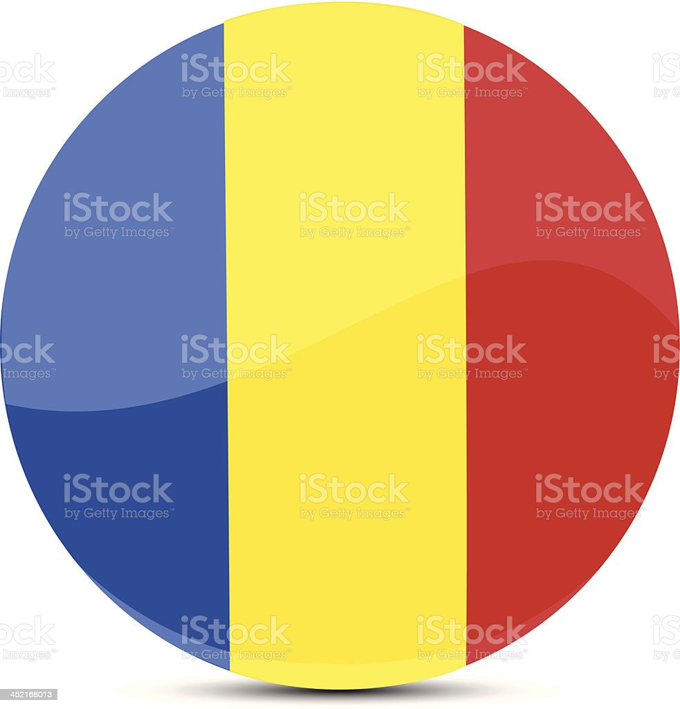 Romania flag royalty-free stock vector art