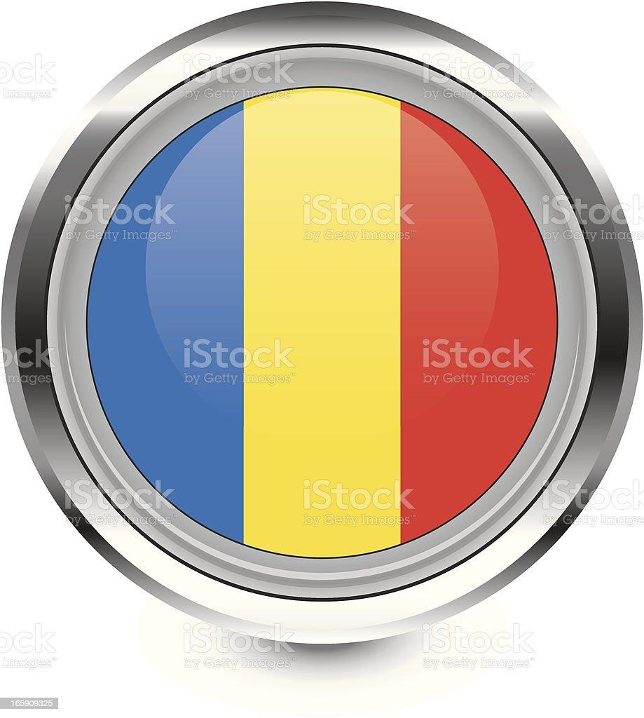 Romania flags royalty-free stock vector art