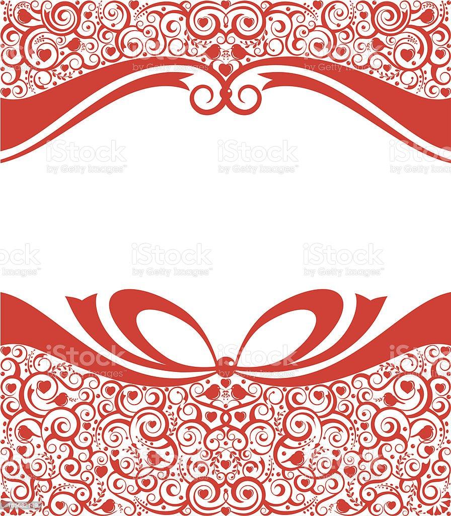 Romantic Invitation royalty-free stock vector art