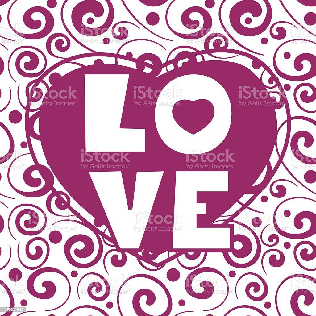 Niedliche Musterdesign Valentinstag mit Juwel Ring, rote Herzen ...