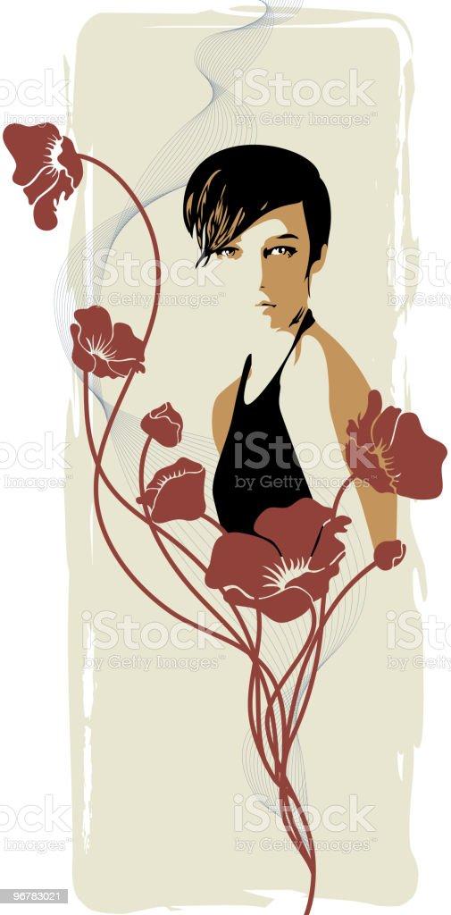 Romantic Sentiment vector art illustration