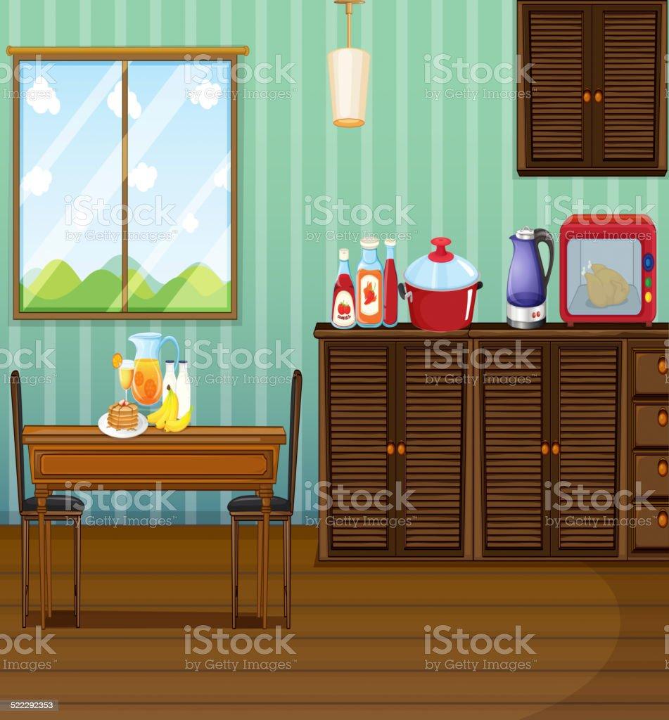Room vector art illustration