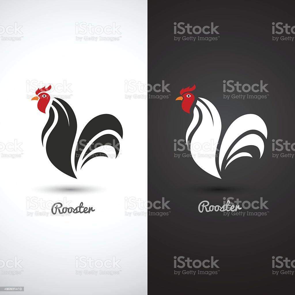 Rooster vector art illustration