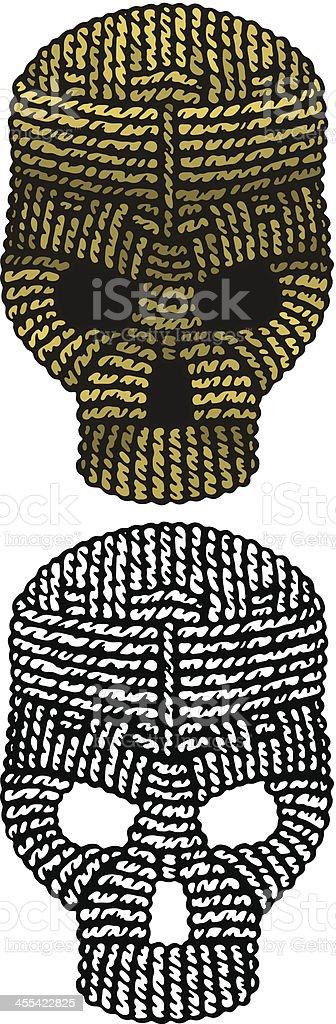 Rope Skull royalty-free stock vector art