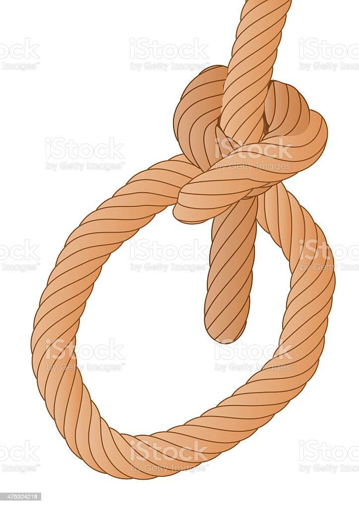 rope vector art illustration