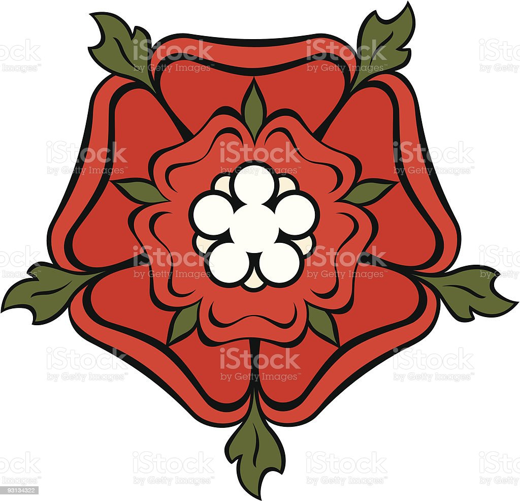 rose and crown royalty-free stock vector art