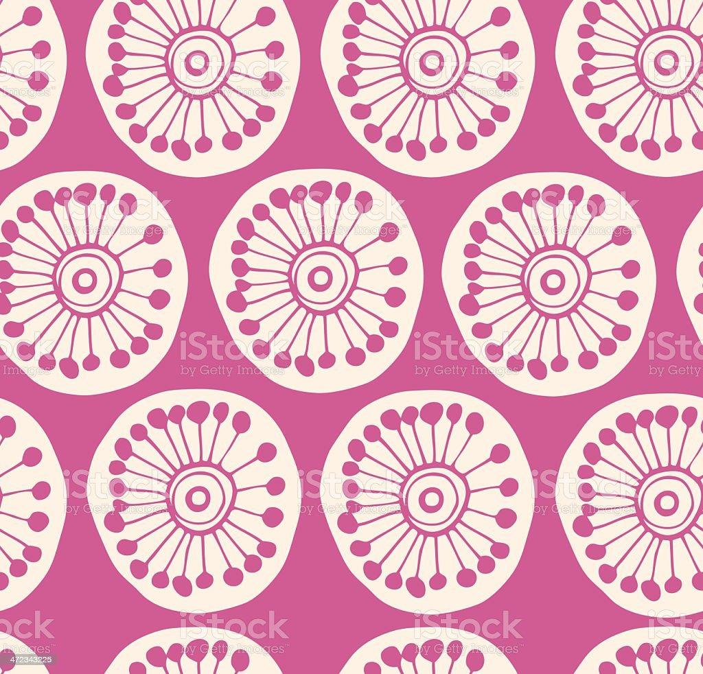 Rose modern seamless pattern royalty-free stock vector art