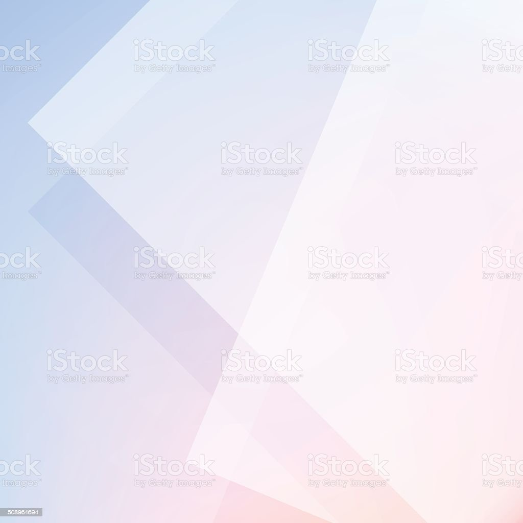 Rose Quartz And Serenity Color Minimal Abstract Stock Vector Background vector art illustration
