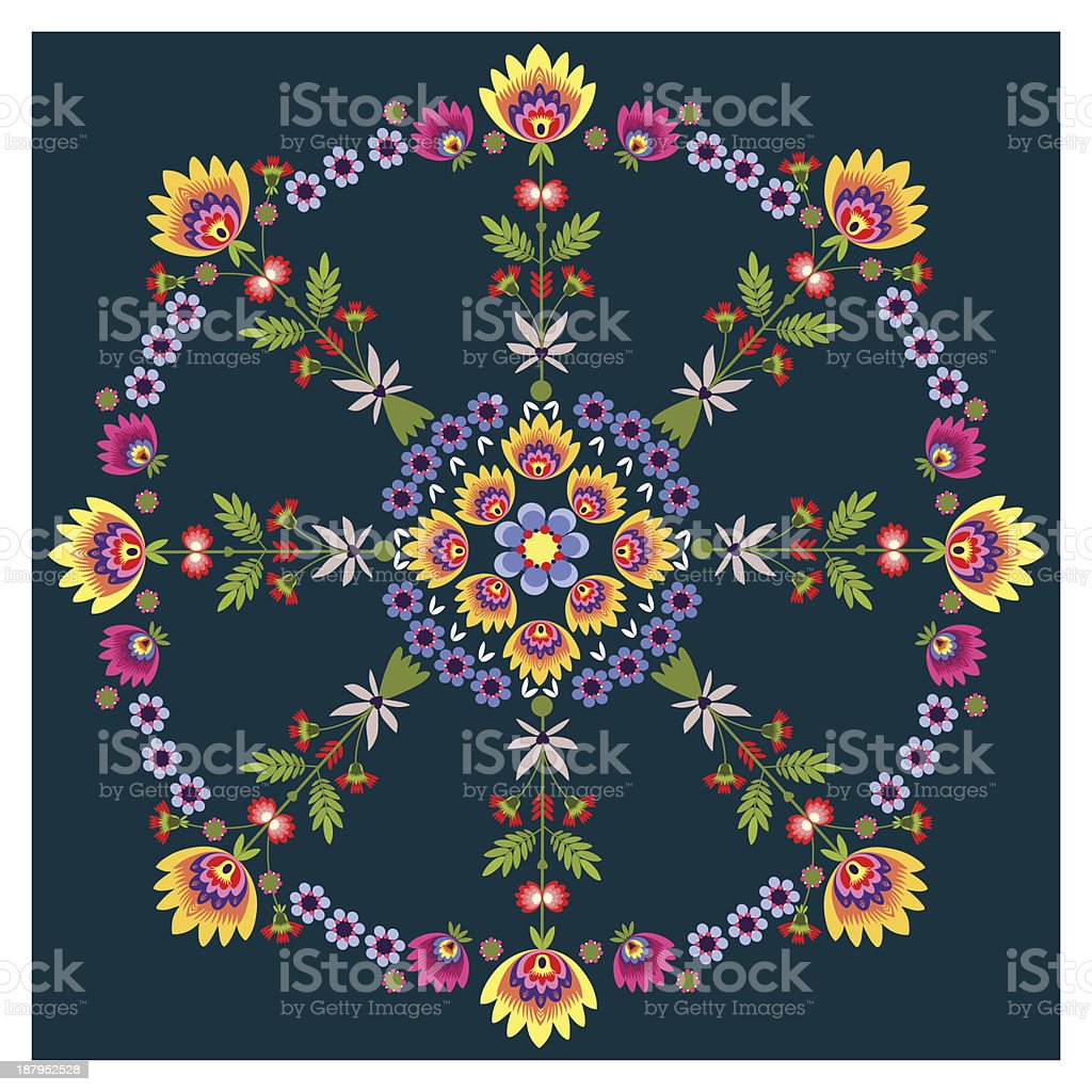 rosette royalty-free stock vector art