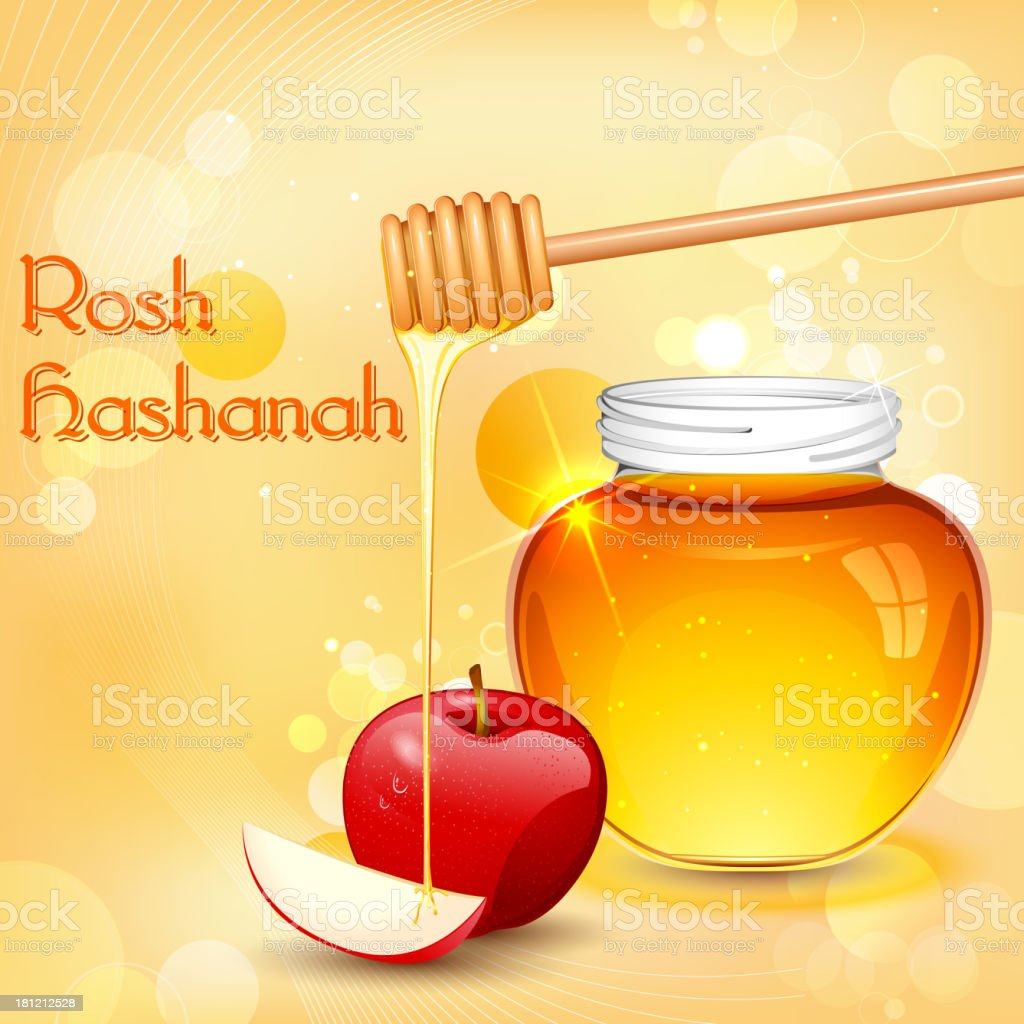 Rosh Hashanah royalty-free stock vector art