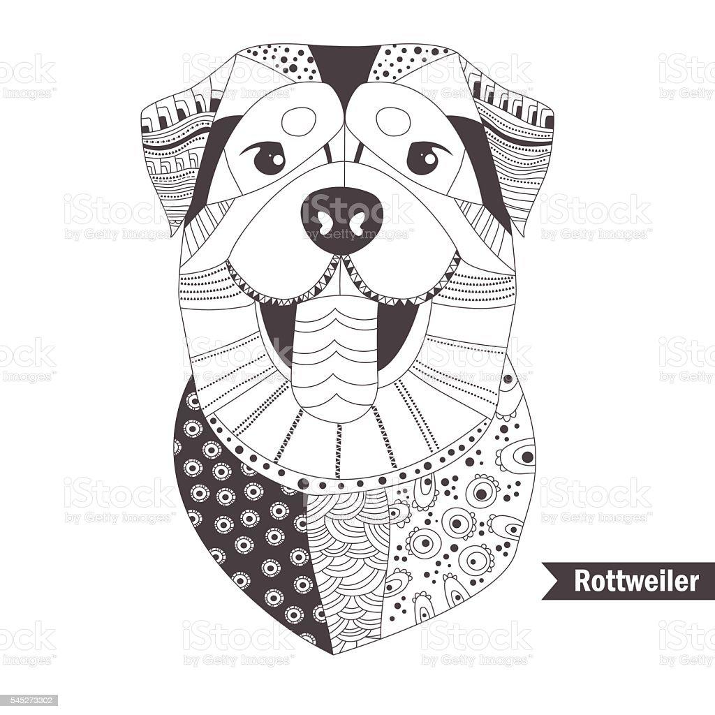 corgi coloring book stock vector art 545273392 istock